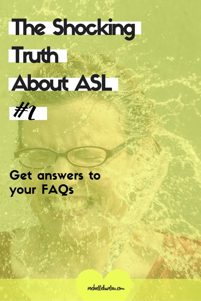 Get the answers to your most frequently asked questions about Deaf culture and get the truth about ASL.