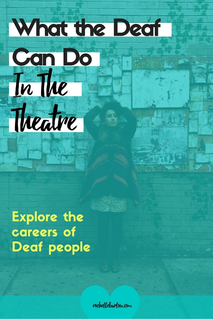 Ever wonder what the Deaf can do? They can do anything! Come check out the Deaf in the theatre and see for yourself.