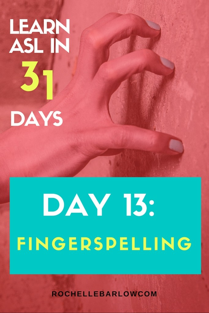You've been dying to learn ASL forever! Now you can! You'll learn not only vocabulary, but also grammar and all the skills the go along with ASL. For FREE! Pin so you can have easy access to all 31 lessons. Learn the proper fingerspelling technique so you can be a pro-signer! Grab the free practice sheet as well.