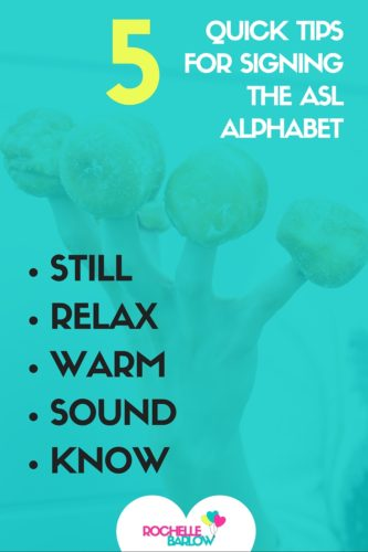 Signing the ASL alphabet isn't always as simple as it seems. Use these 5 quick tips to really master the alphabet and prepare for fingerspelling.
