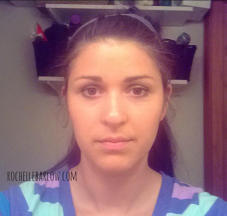 pre-makeup face