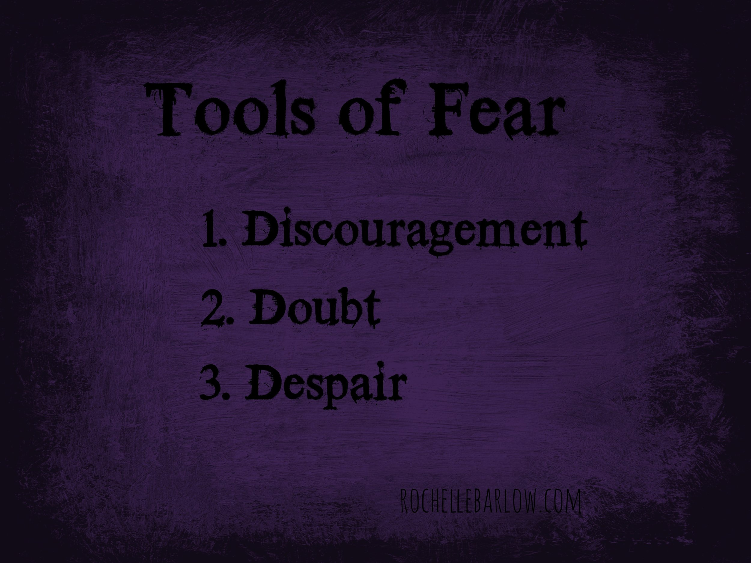 tools of fear