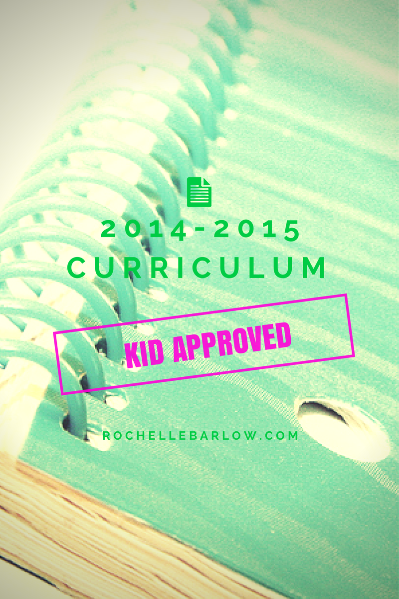2014-15 Curriculum Picks