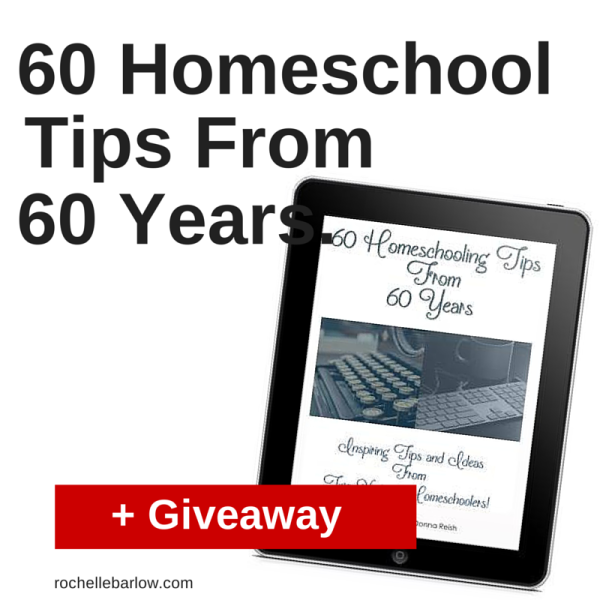 60 Homeschool Tips From 60 Years + Giveaway | Rochellebarlow.com