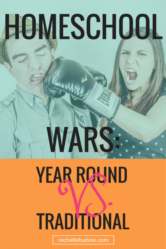 Homeschool Wars: Year Round vs Traditional