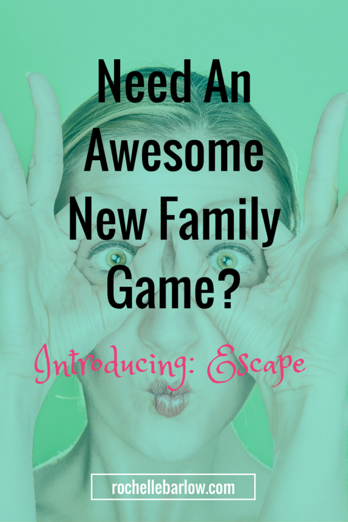 Need An Awesome New Family Game? Escape is a game that even non-game lovers can love. Click to see it in action and what it's all about.