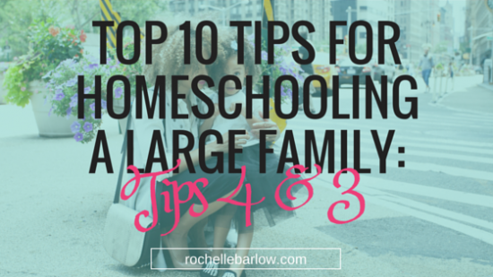 tips for homeschool large family 4