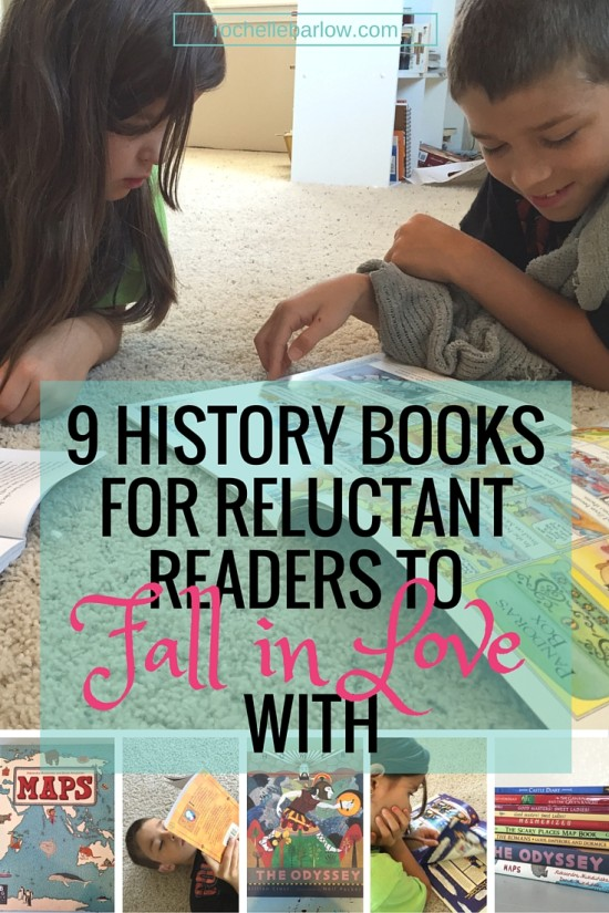 9 History Books for Reluctant Readers to Fall in Love With