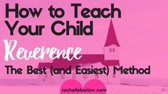 Sometimes you wonder why you even bother going to church...all you're doing is wrestling your child trying to get them to shush for 1 minute bursts. You can teach your child to be reverent without bribes, rewards, or death threats! CLICK to read more on the best method (and the easiest) to teach your child reverence.