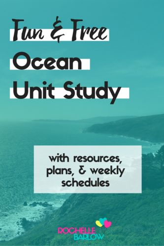 Join us in our much-anticipated Ocean Unit Study adventure. We're using some sweet fish toys to make our studies especially great! Plans & schedule included