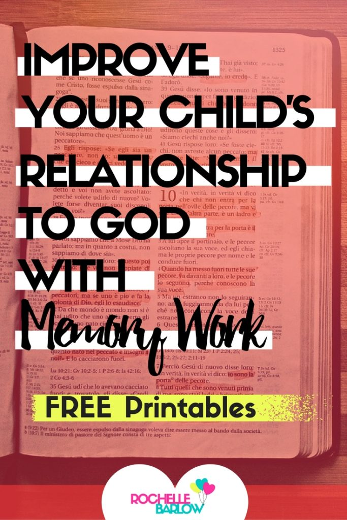 Scripture memory work, along with memorizing hymns, songs, and doctrine are the best ways to establish, nurture, and grow your child's relationship to God. This has a list of scriptures, hymns, and how to incorporate doctrine -- along with ASL memory work printables