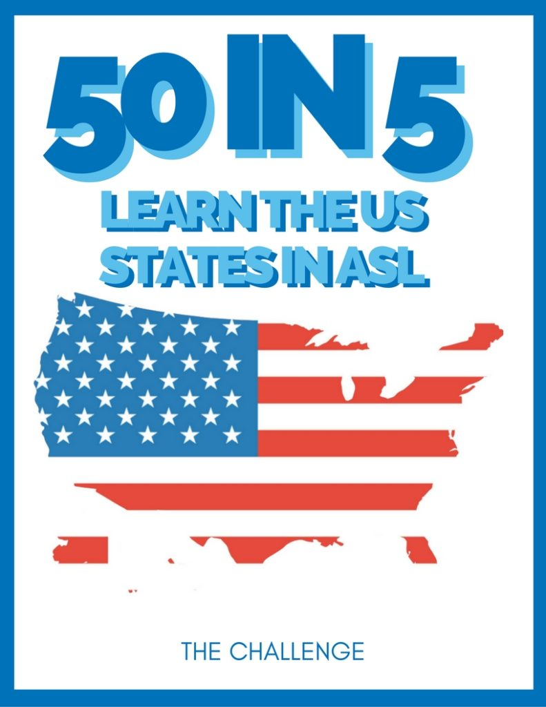 Learn all 50 states, their signs, and their locations in a LIVE 5 day challenge!