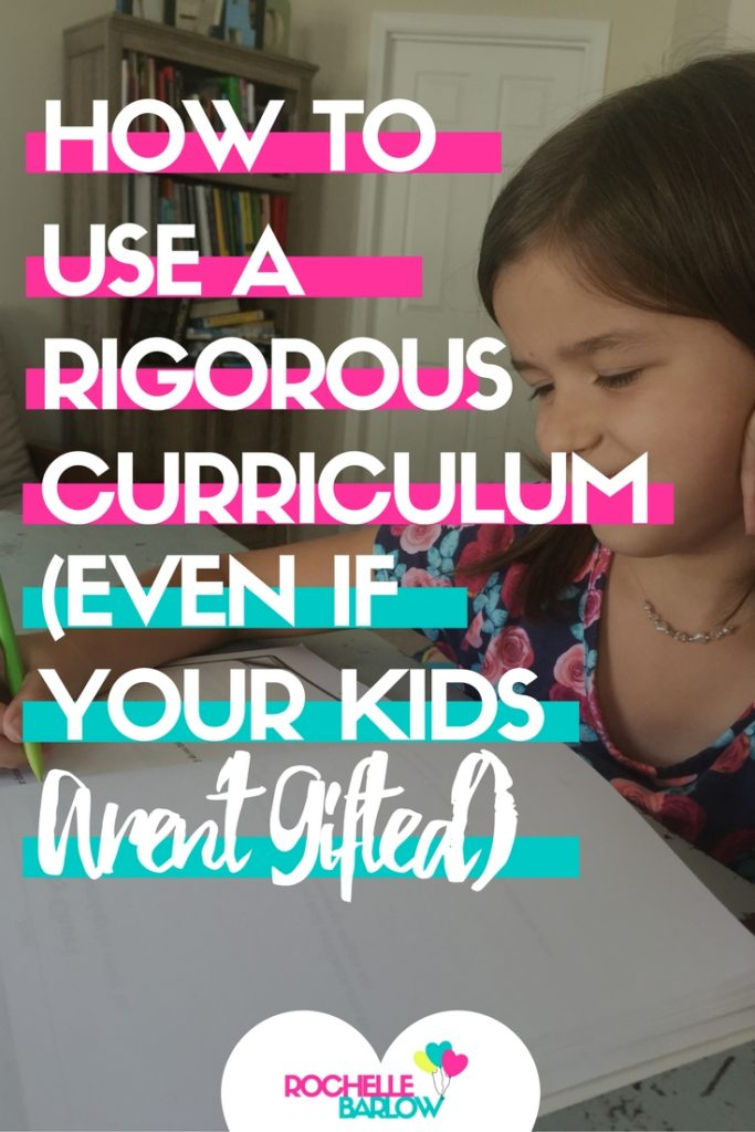 Maybe you don't think your kids are gifted. That's okay, you can STILL use a rigorous curriculum designed for gifted students to stretch their abilities.