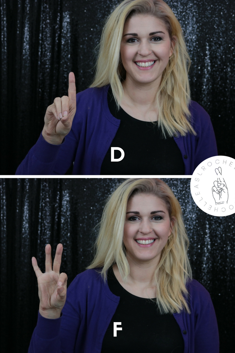 Learn The Asl Alphabet Common Problem Letters  Mistakes  Asl Rochelle
