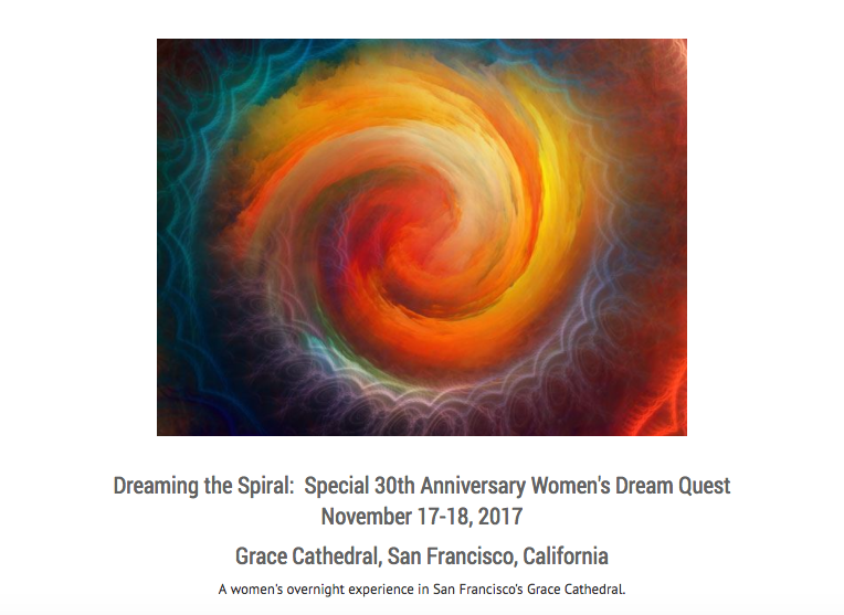 Women's Dream Quest // Overnight retreat at Grace Cathedral