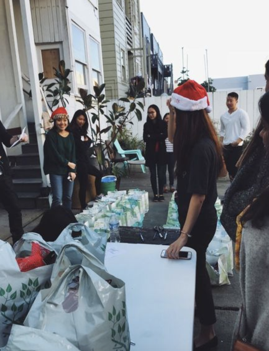 holiday comfort kits for the homeless - packing & distribution party