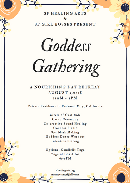 Goddess Gathering - A Nourishing Day Retreat @ Keilah's Redwood City Residence