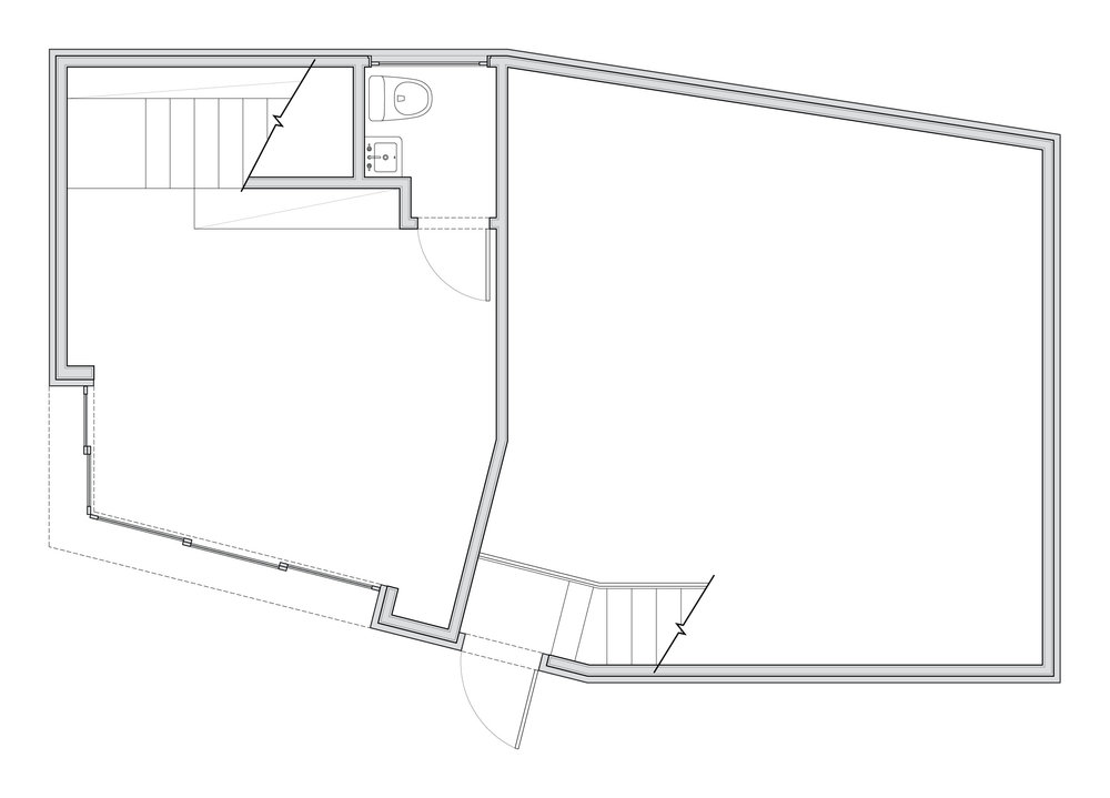 Ground-floor plan. Click image to advance >