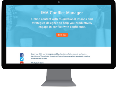 IMA Conflict Manager
