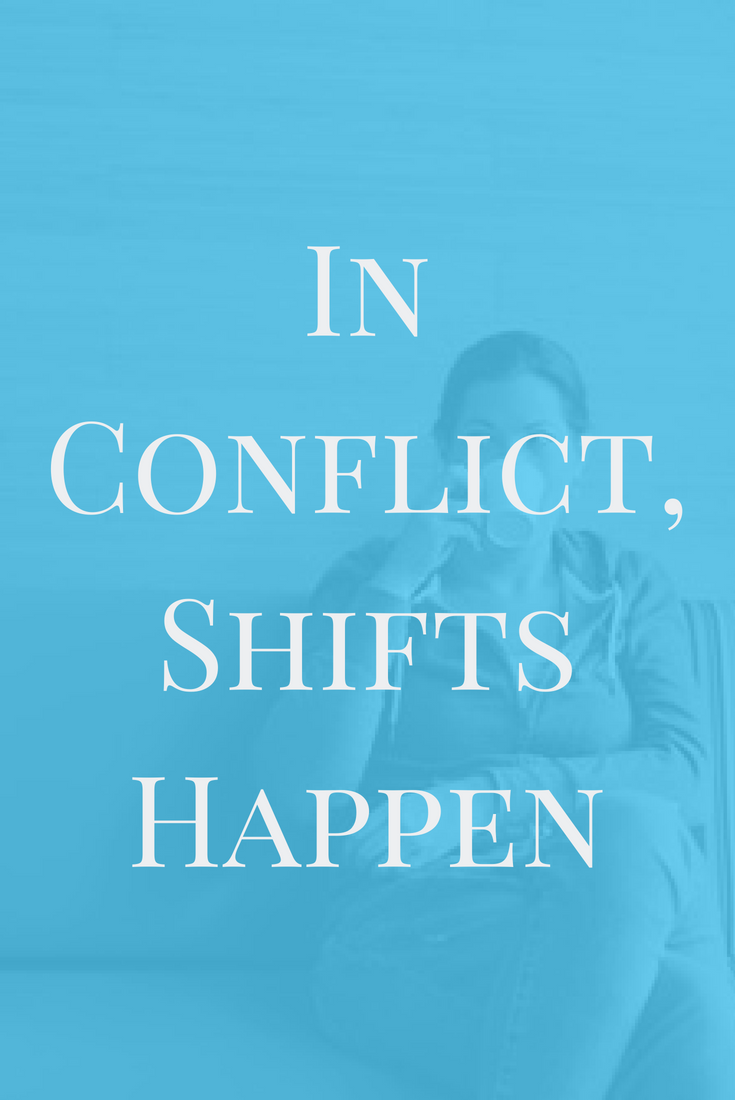 In Conflict, Shifts Happen