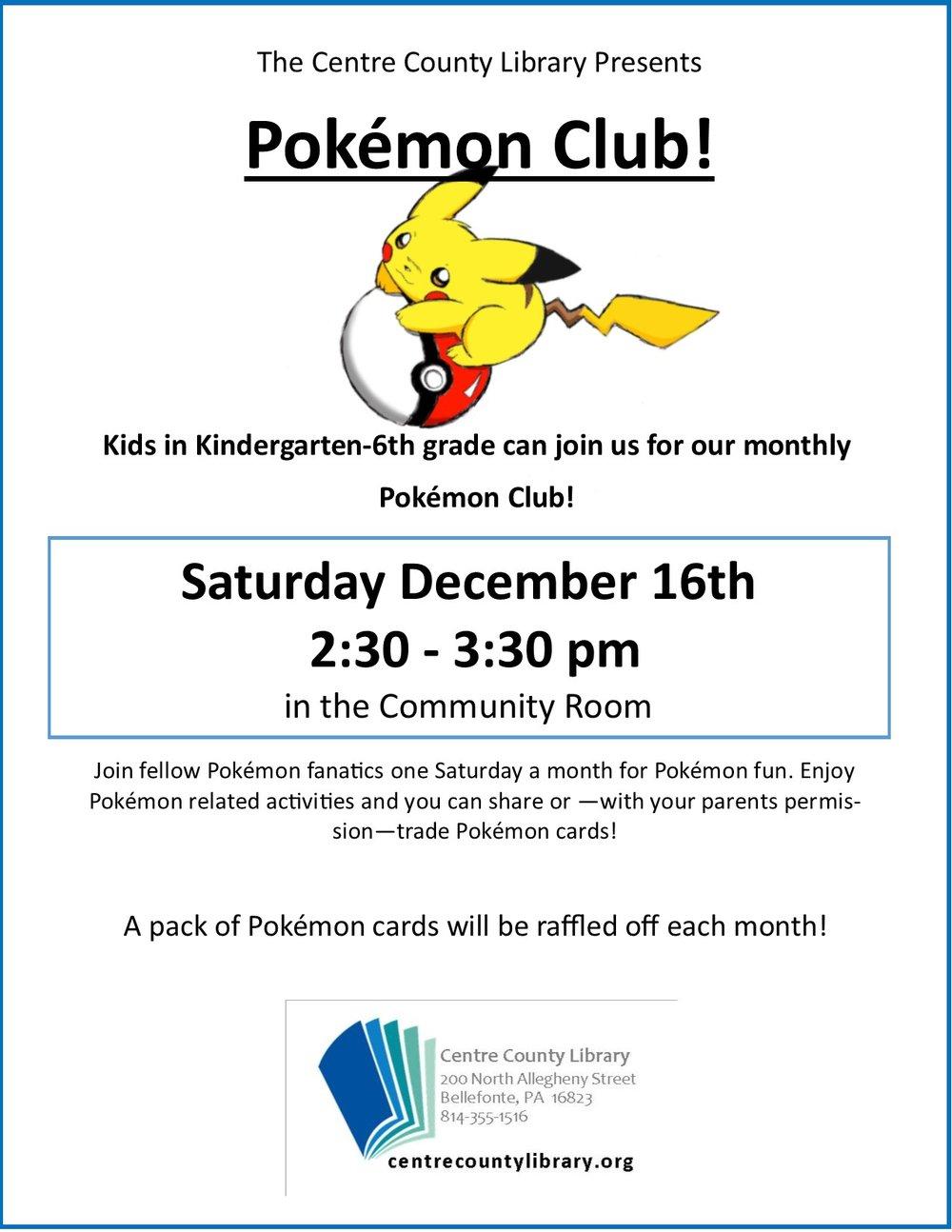 Pokemon club flyer december.jpg