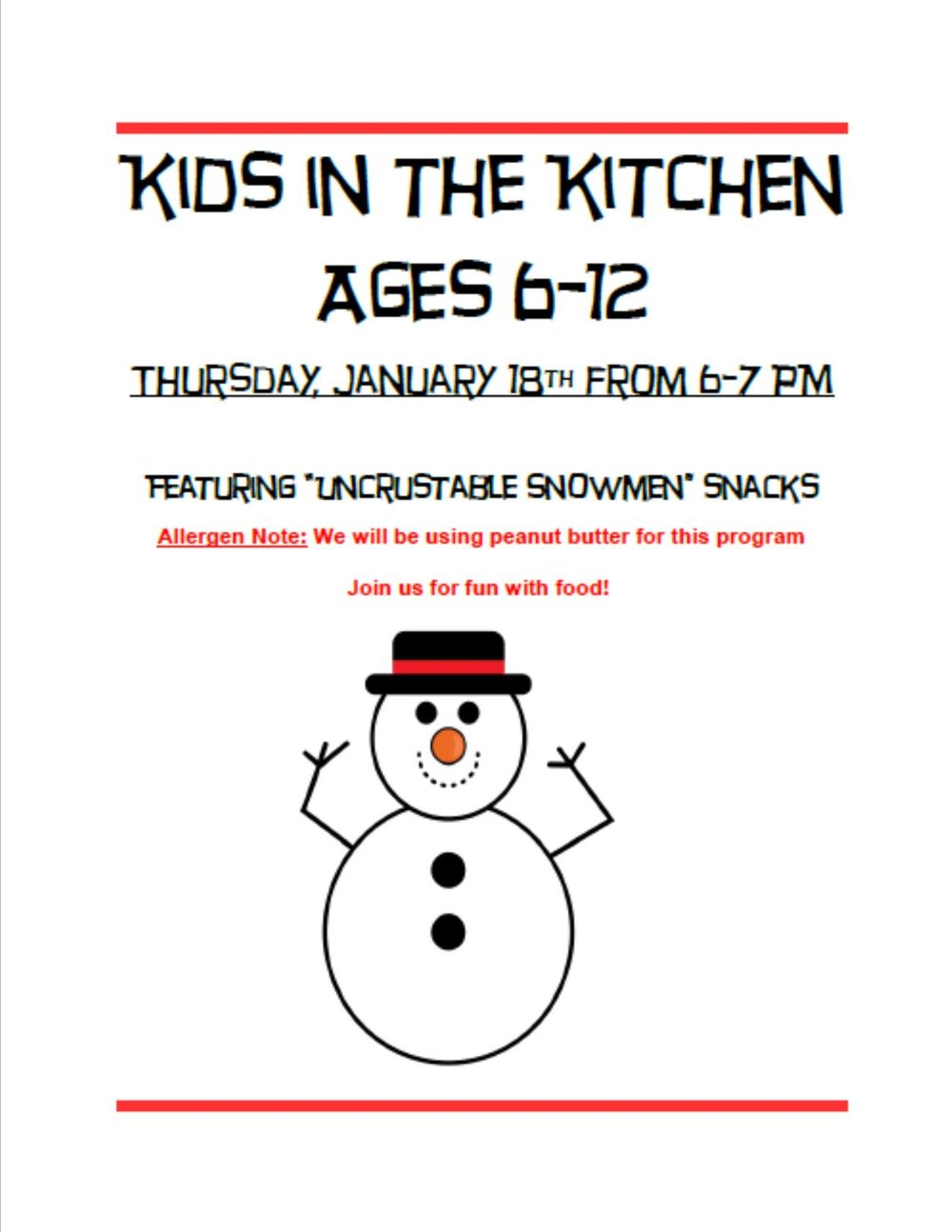 kids in the kitchen snowman.jpg