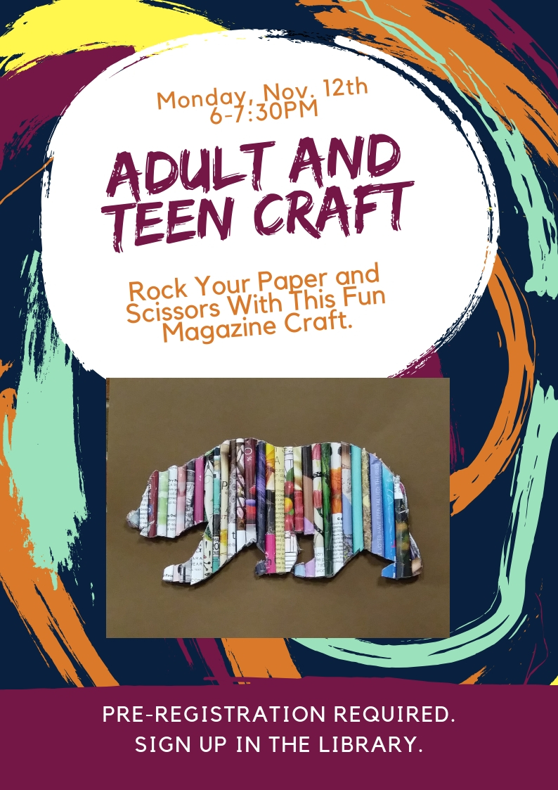 Adult and Teen Craft Nov 12.jpg