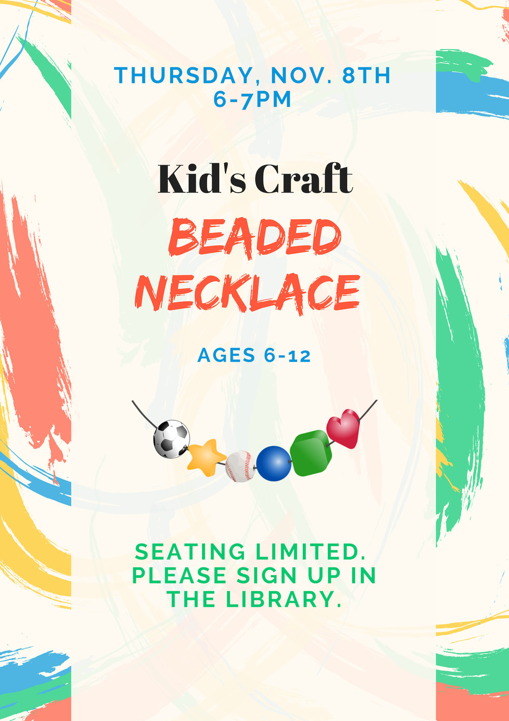 Kid's Craft Beaded Necklace Nov. 8.jpg