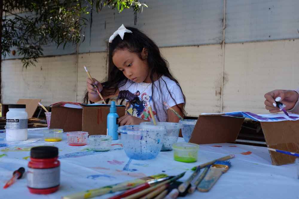 Children's Craft: Flag Making - ARTogether, in partnership with the Center of Empowering Refugees and Immigrants (CERI), hosted a creative flag-making workshop on Wednesday, July 19 for children from refugee families. ARTogether recently partnered with CERI to incorporate arts...Read More