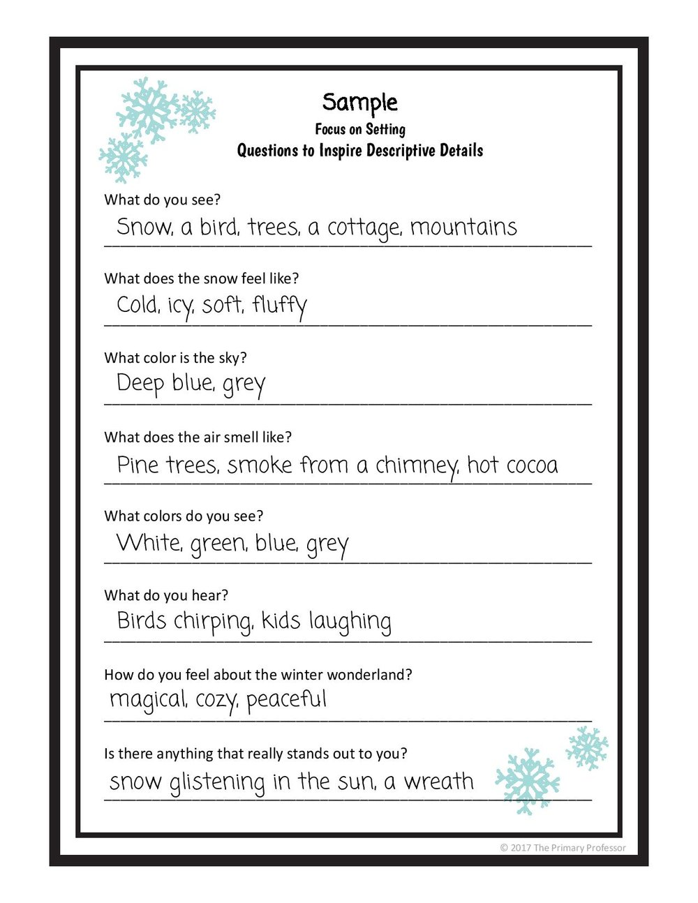 descriptive writing lesson a winter setting teachwriting org winter 3 page 001 jpg