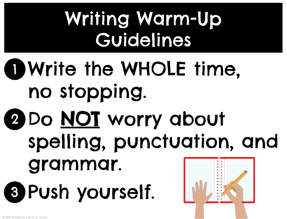 Writing Warm-Up Guidelines Anchor Chart.png