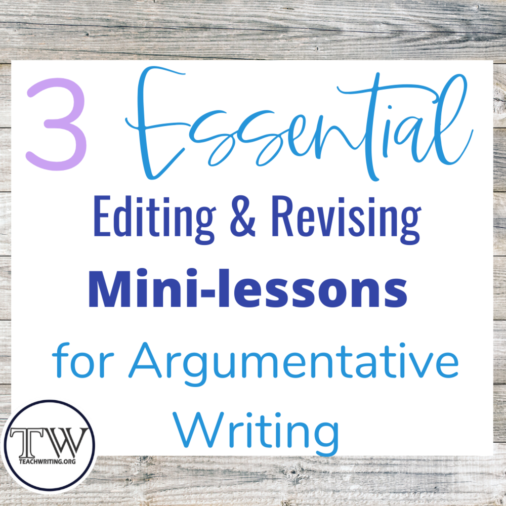 6-12th- ADD ARTICLES HERE — TeachWriting org