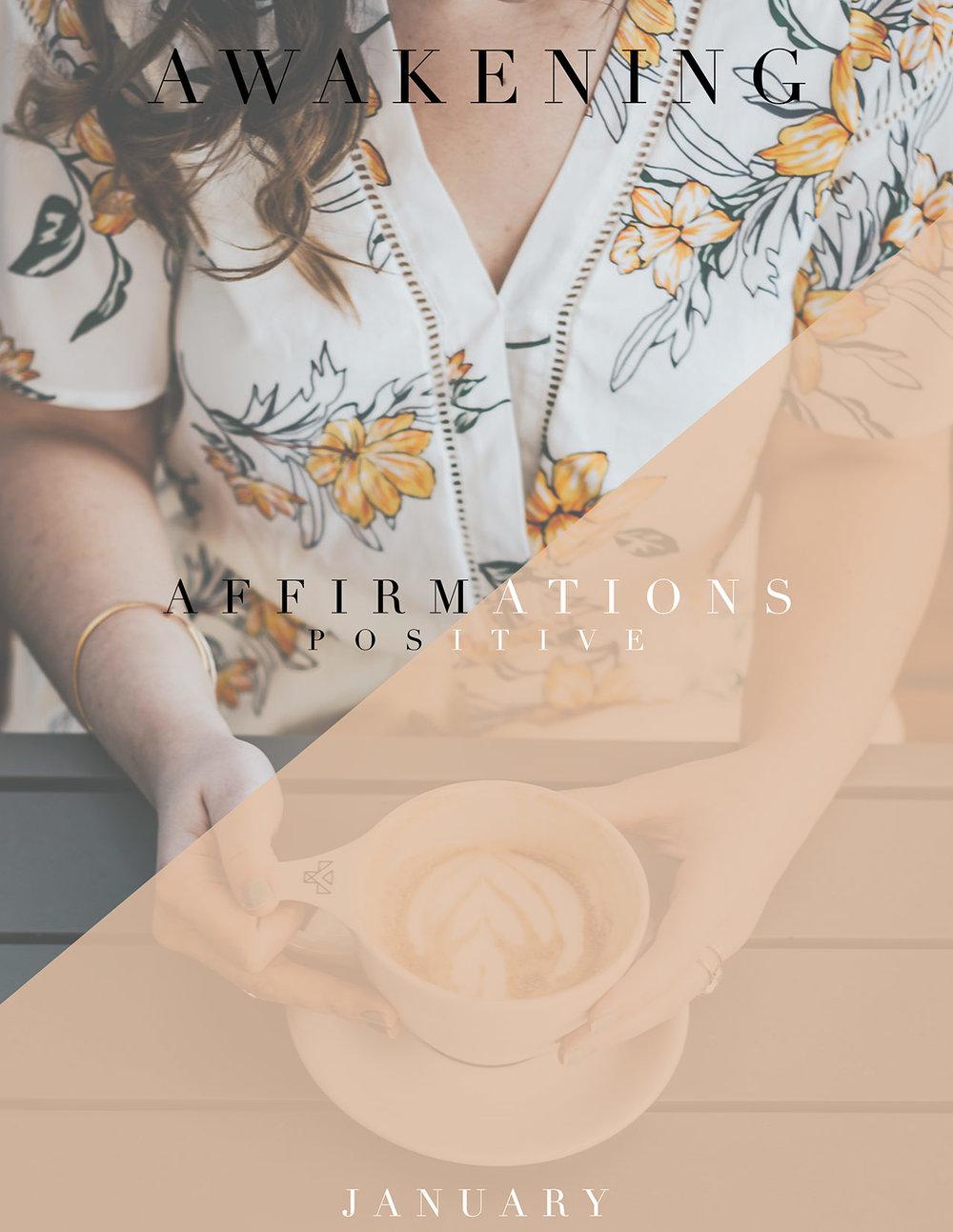 2019 - January Affirmations