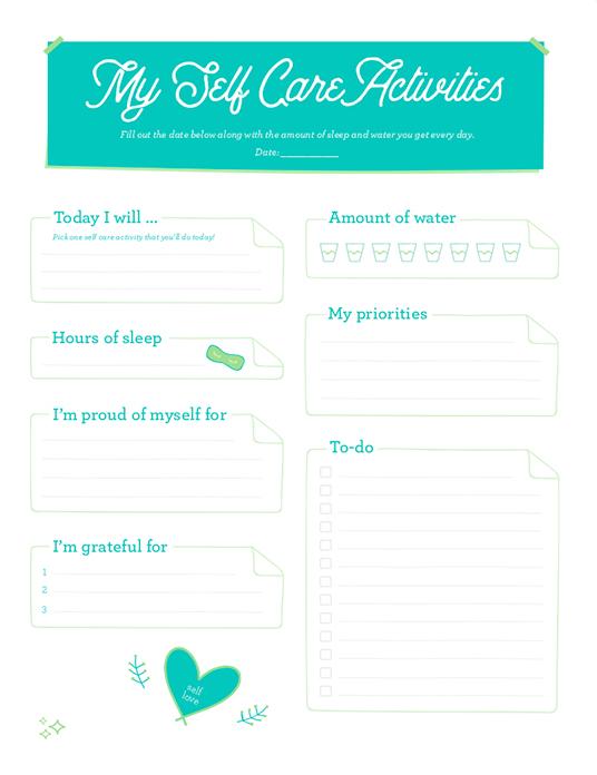- Self-Care Guides