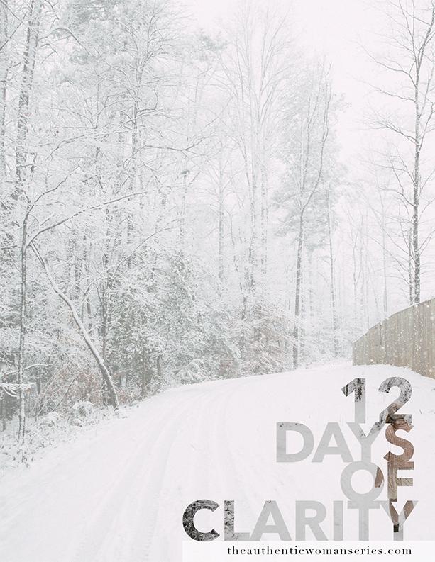 - 12 days of Clarity + Pep Talks