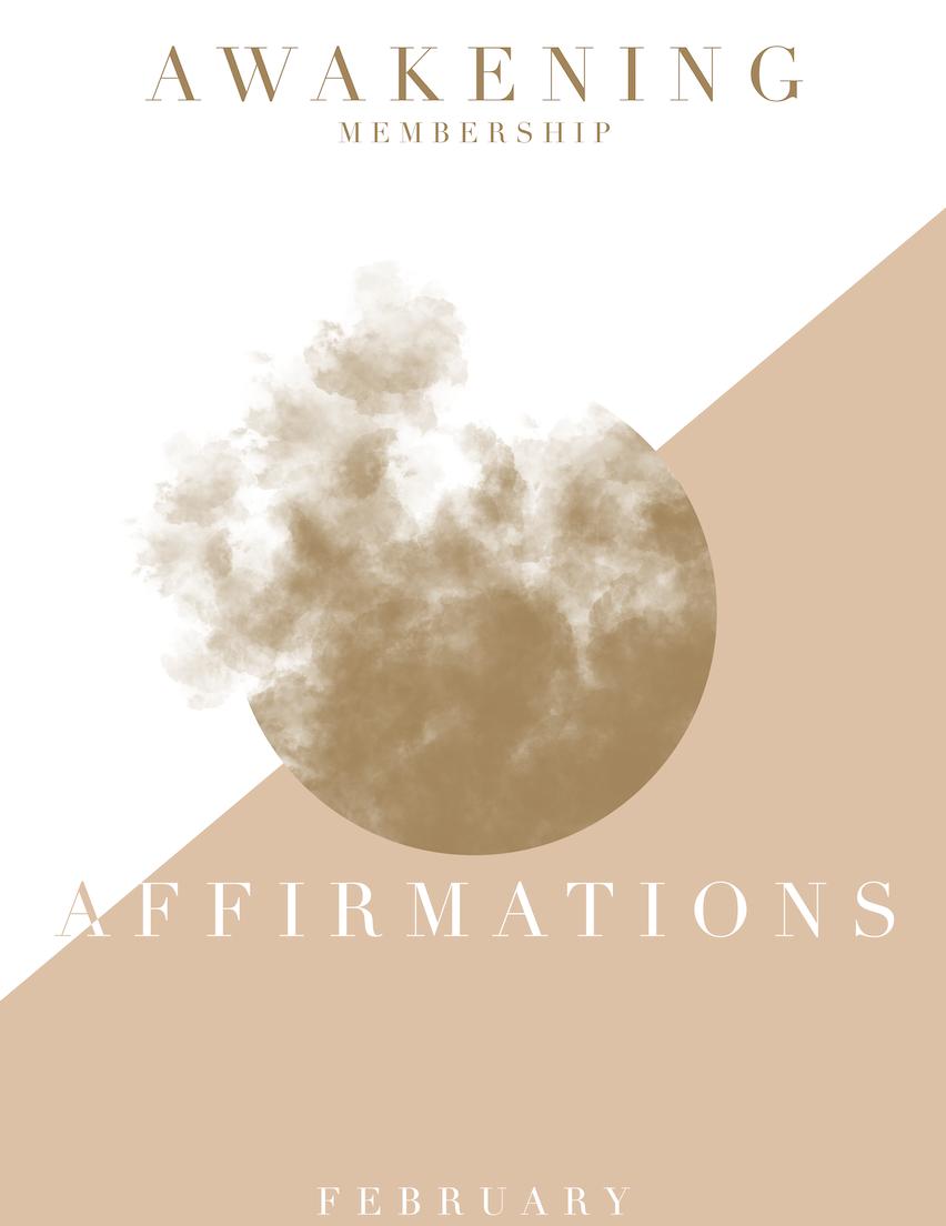 2019 - February Affirmations