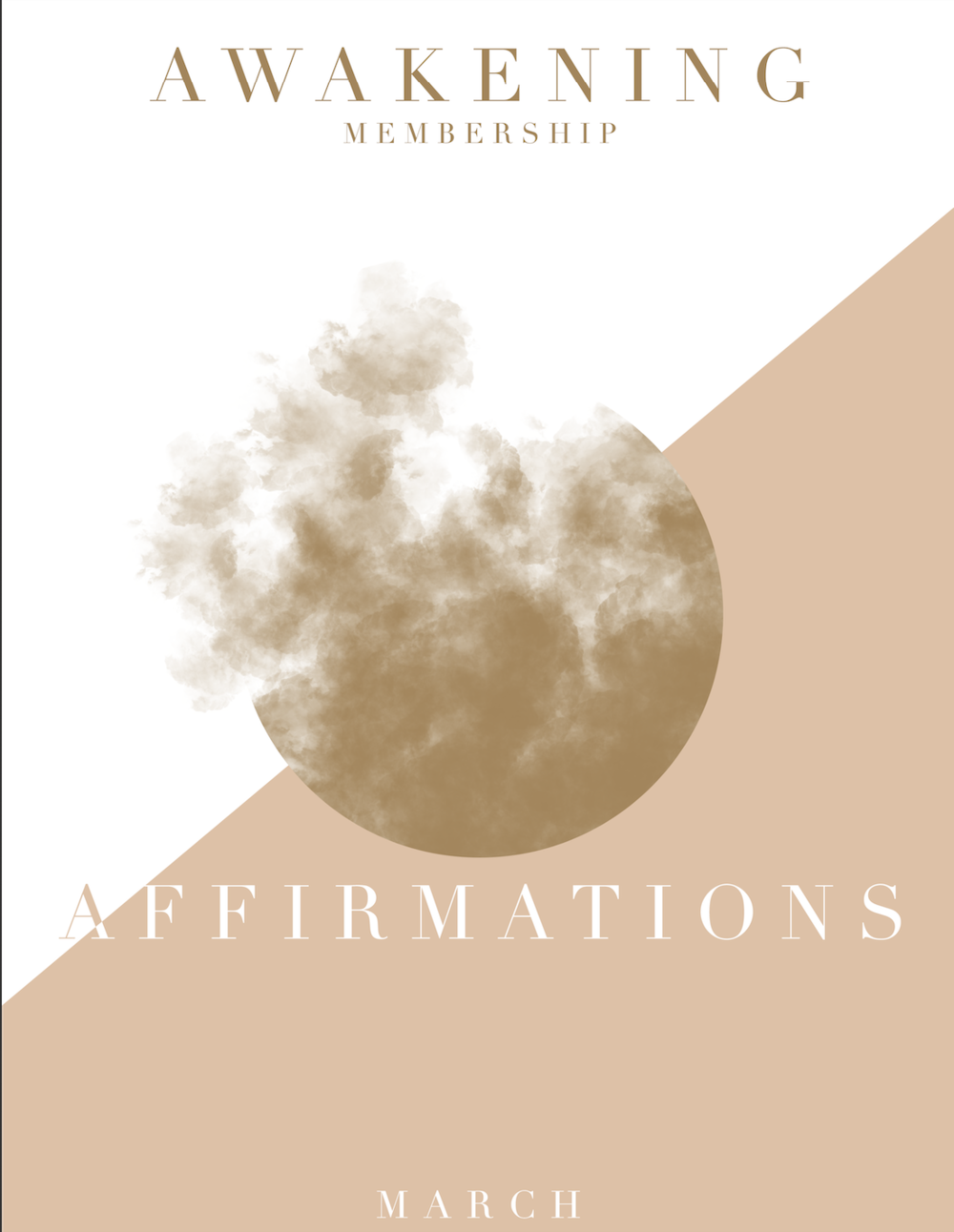 2019 - March Affirmations