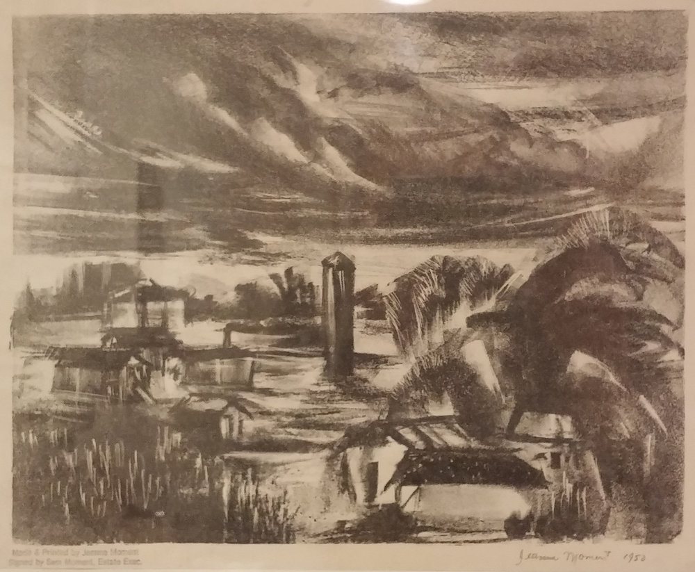 Oregon Farm , print, 16 x 13  Pathways Original Print Collection