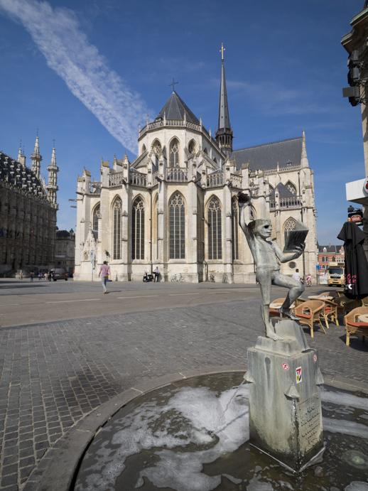Peterskirche in Löwen, Belgien