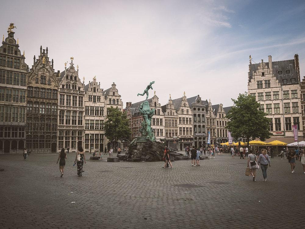 Der Grote Markt, Antwerpen