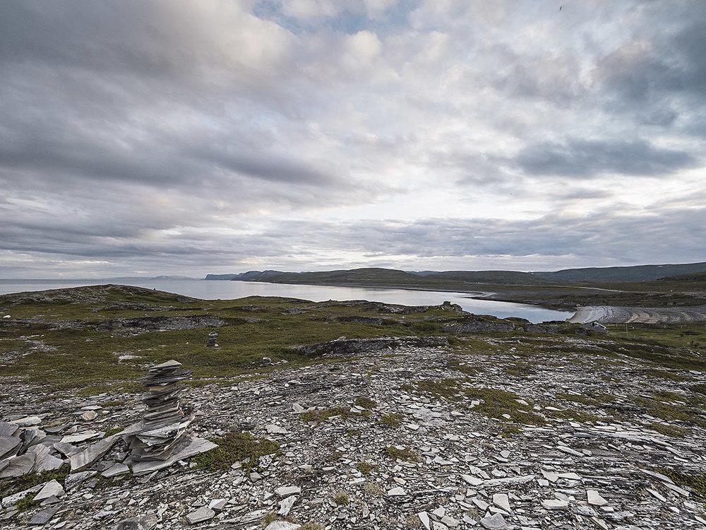 Entlang des Porsangerfjords