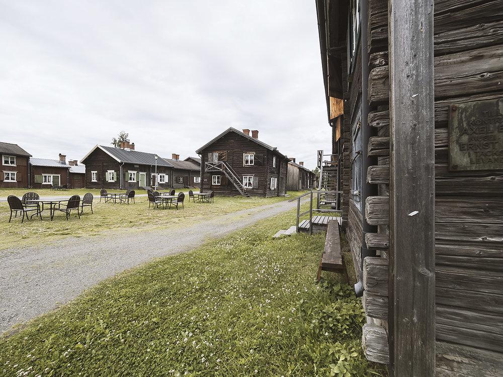 In Skellefteå gibt es eine alte Kirchenstadt