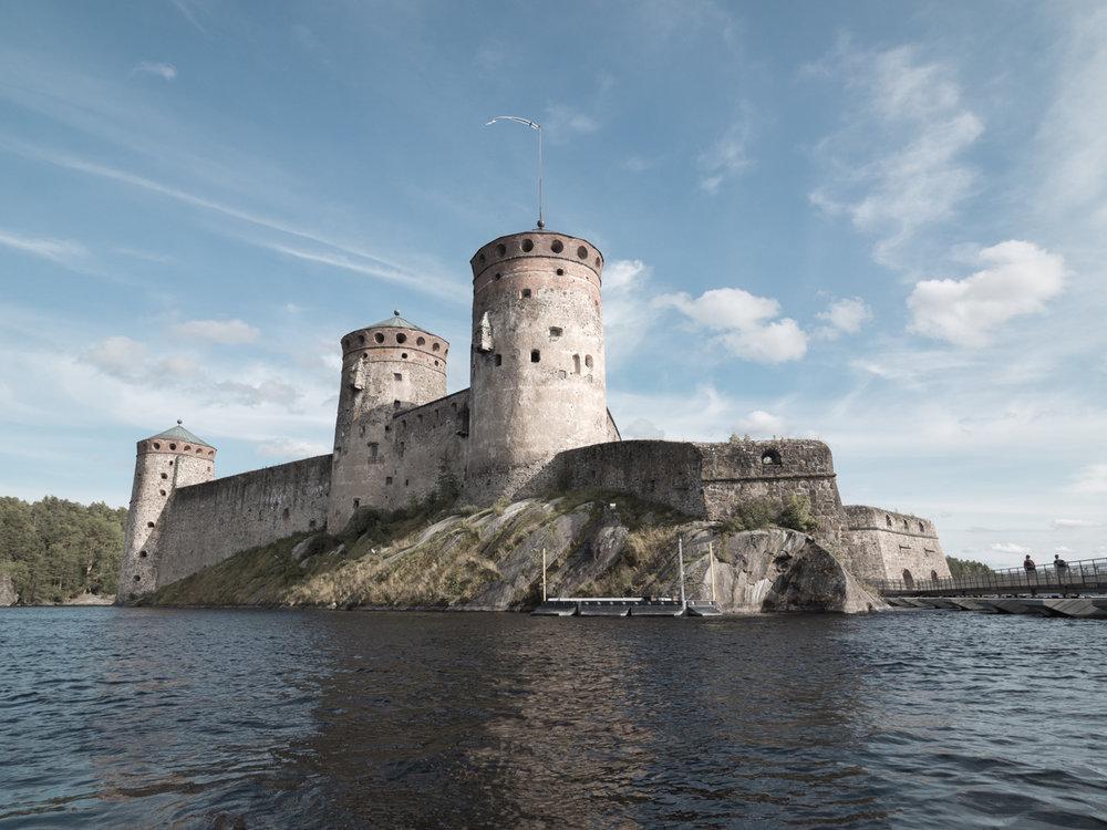 Die Burg Olavonlinna