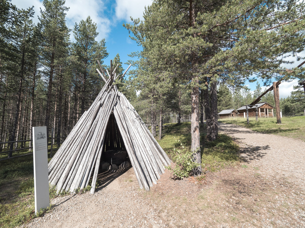 Im Sami Museum von Inari