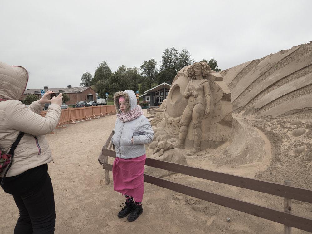 Sandskulpturgarten in Lappenranta
