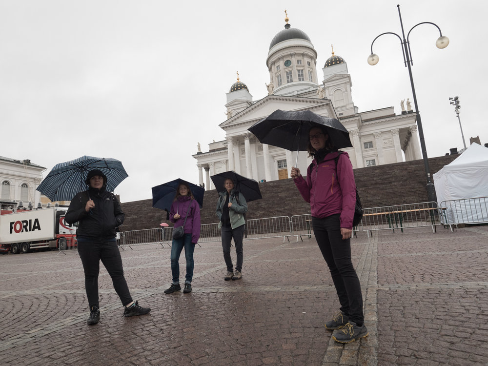 Helsinki by rain
