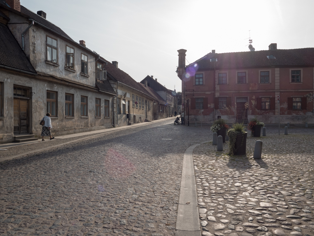 Kuldiga, ein beliebter Drehort für Filme