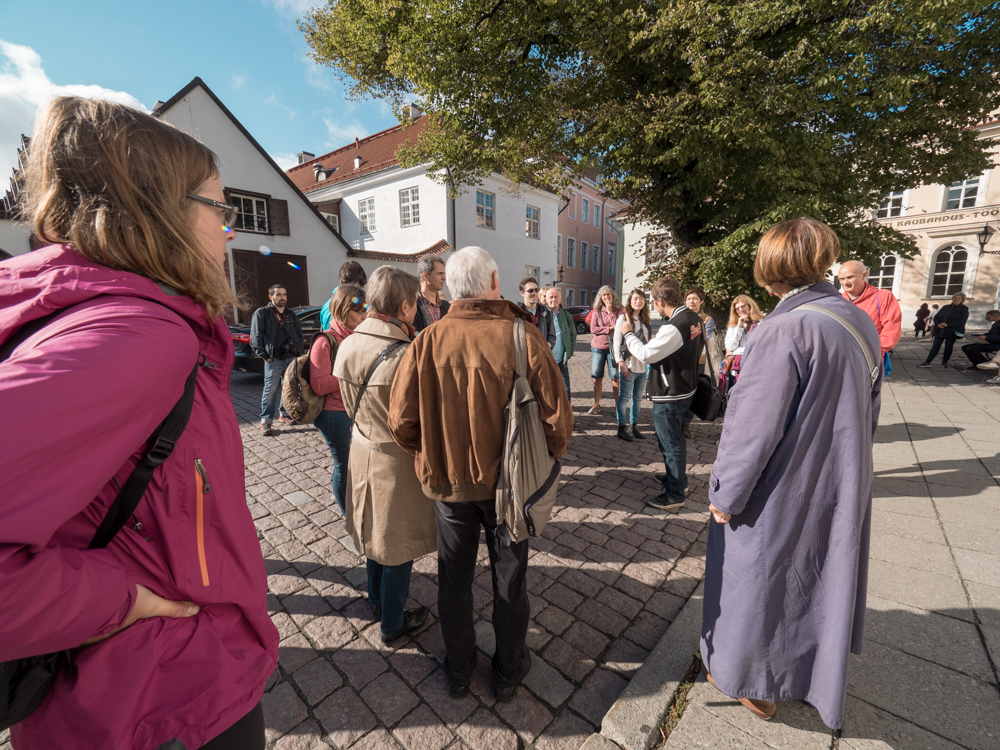 Unser tourguide in Tallinn