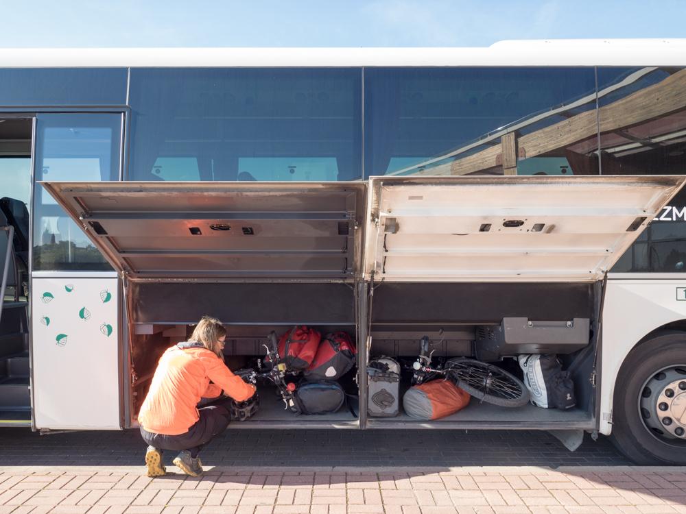 Unkompliziert: Fahrradtransport im Bus