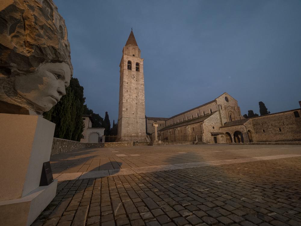 Zur Abwechslung etwas Kultur: Die Basilika von Aquileia